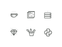 Programming Language Icons