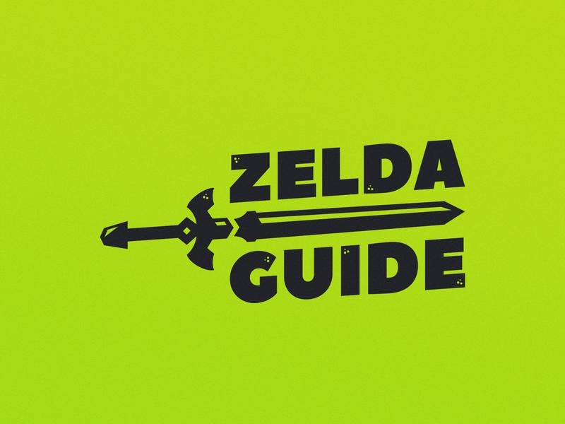 Zelda Guide Sword Logo