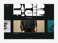 Paper Tiger Agency. Redesign Idea
