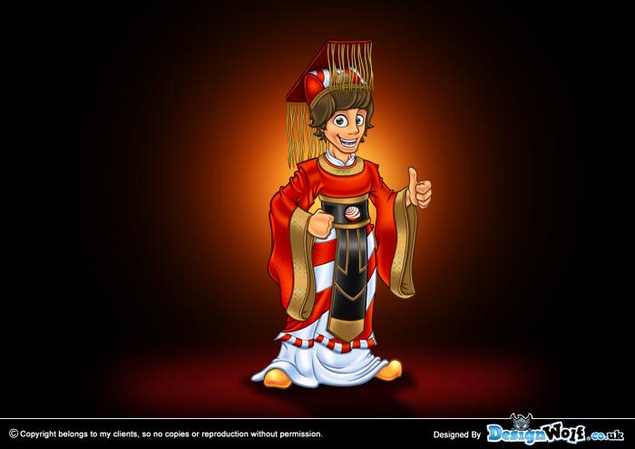 08   chinoesfera mascot design