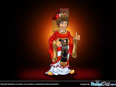 Chinoesfera Mascot Design chinoesfera mascot design china chinese language human cartoon character