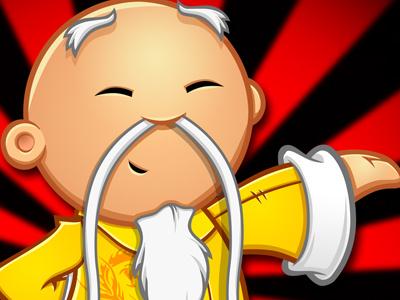 Demovideo - Mascot Design demovideo kung fu karate mascot design chinese master character cartoon logo design china