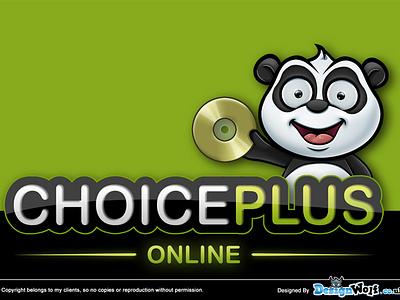 Choiceplus - Logo & Mascot Design choice plus cartoon mascot design logo design character panda bear