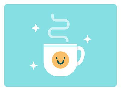 Good Morning! morning coffee smile smiley face