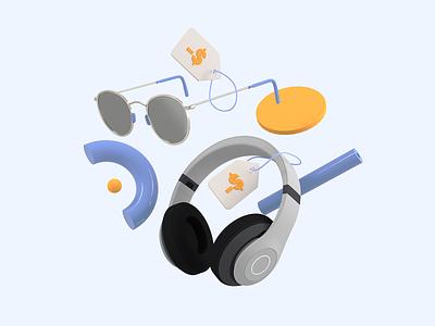 Honey - Droplist coupons online shopping pricetag 3d headphones sunglasses droplist cinema4d