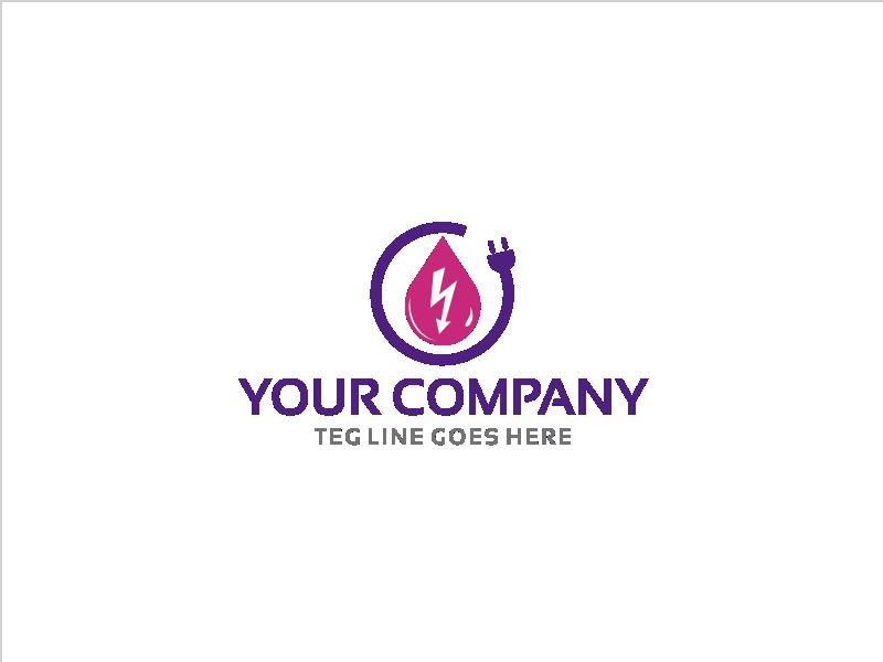 Logo Design electrical energy