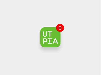 Notification Badge badge notification smartphone ios icon app ui concept