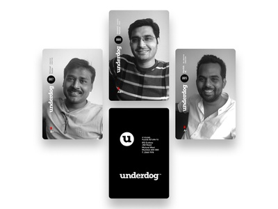 u Cards photography cards id card typography design branding