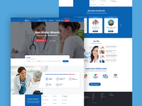 Landing page Tam Anh Clinic