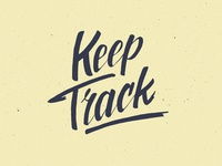 Keep Track Dribbble