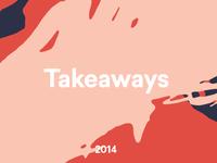 Takeaways 2014