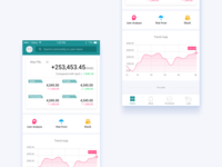 Statistic app home page