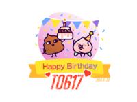 Happy birthday to 617