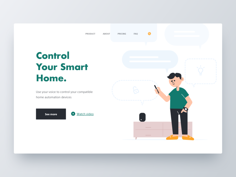 Product Page product page website web icon page design ui cartoon illustration