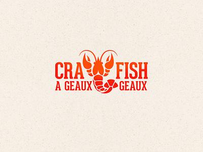 Crawfish logo illustration branding logo vector design