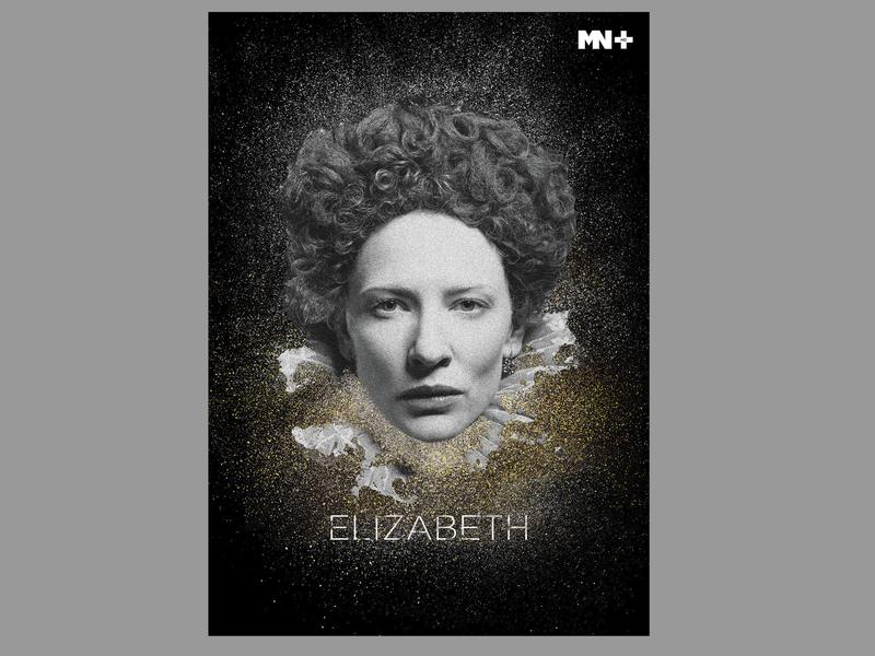 Diary Illustrations_5 channel mn elizabeth movie hollywood branding vector art illustrator illustration designer design