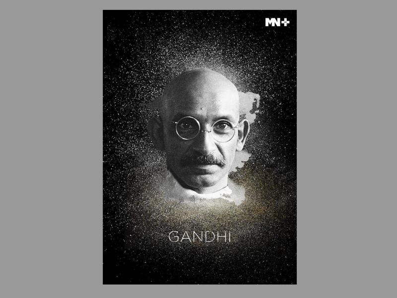 Diary Illustrations_9 gandhi movie mn hollywood branding vector art illustrator illustration designer design