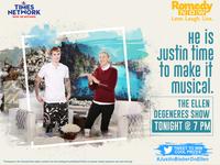 Romedy Now | Justin Bieber | Ellen