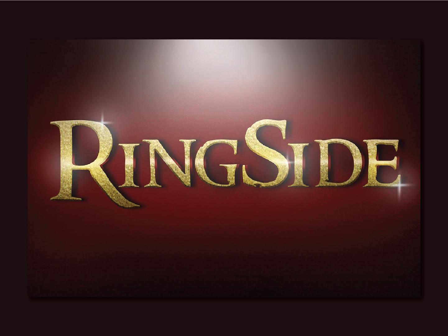 RingSide | Movie Premier Logo by RIDDHI MISHRA on Dribbble