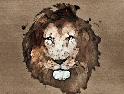 Lion Face | Digital Painting