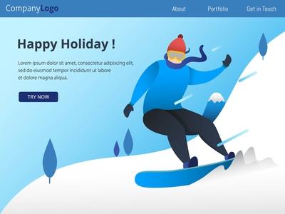 Winter Sport   Landing Page
