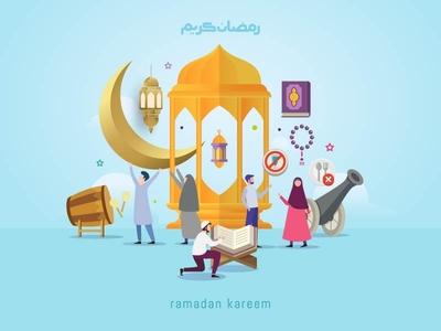 Ramadan Kareem design concept