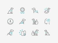 K9 Landing page icons