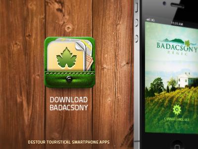 Drible Badacsony ui interface design app travel iphone icon screen landing page badacsony
