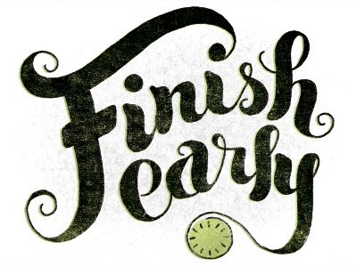 Image result for early finish