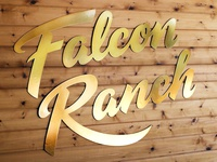 Falcon Ranch sign