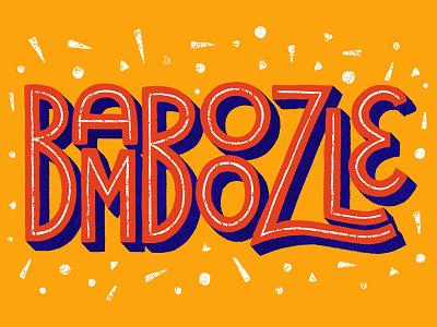 Bamboozle fun words bamboozle lettering