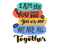 I am he as you are he as you are me and we are all together