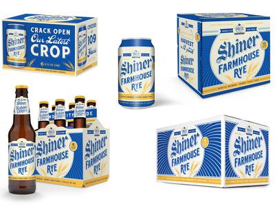Shiner Farmhouse Rye Packaging