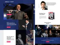 Tony Robbins Redesign