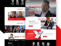 Grant Cardone Website Redesign