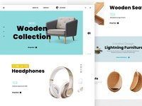 Ecommerce Store Concept Web
