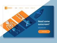 Sunscreen branding