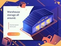 Warehouse Mockup