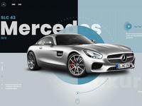 Mercedes Mockup