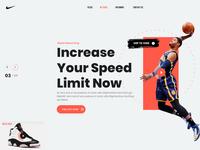 Nike Website Mockup