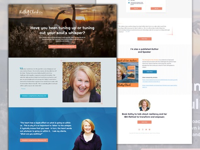 Personal Branding Website for Relationship Coach