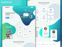 Pipedrive SaaS Landing Page Redesign