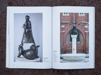 Art Catalogue. Virgil Scripcariu: SuperMAM brochure spread indesign ctalogue book design book layout design layout