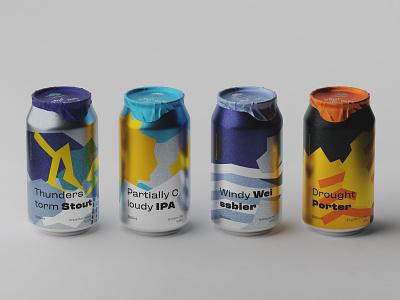 Beer packaging concept identity naming branding illustration beer can beer branding packaging design packaging beer