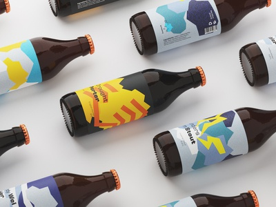 Drizzle Brewery bottles