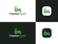 Tractor Gyan Logo & Design Concept