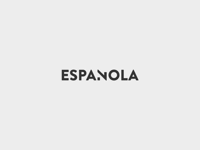 Espanola - Logo logotype logotypes identity design flat logo branding