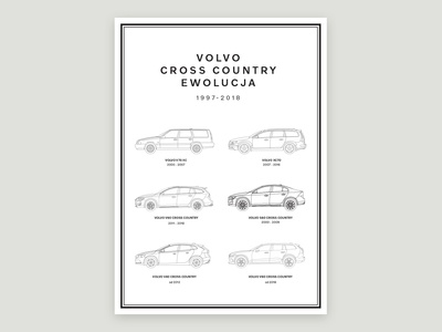 Volvo Cross Country Poster