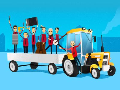 Tractor - Orchestra music album