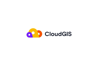 CloudGIS logo principle brand identity illustration cloud transitions animated colors branding logo pin geo gis